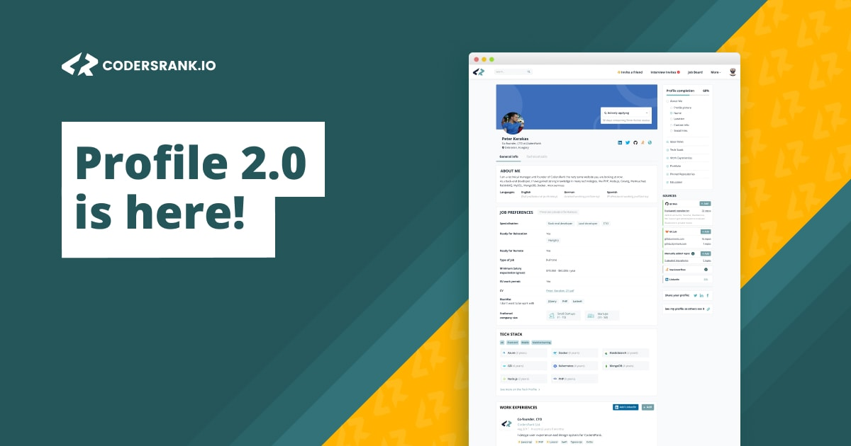 Profile 2.0 + NEW Core Features